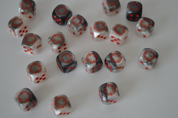 Cold Shadows Dice (by Chessex)