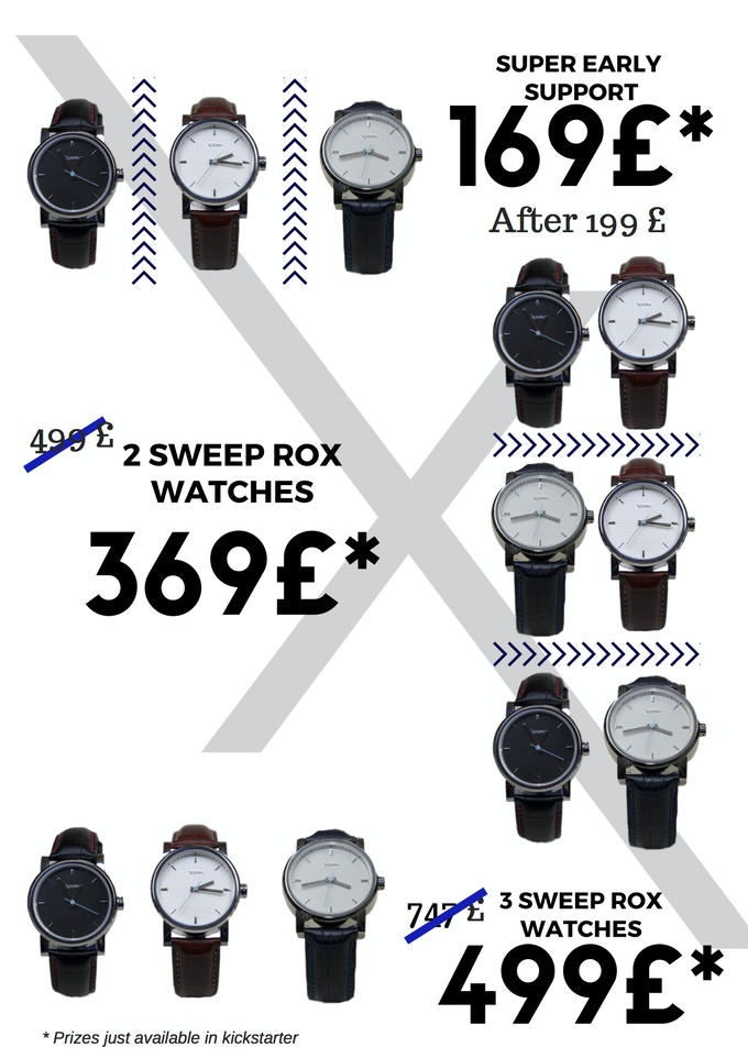 Sweep Rox special prices for Kickstarter launch