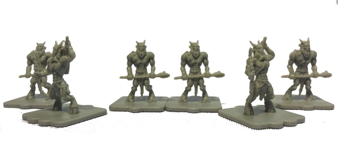 Satyrs inhabit the Forest of the Beastmen (East of Enhydros). Brave but undisciplined, if an enemy unit flees during battle, satyrs will pursue getting an additional attack.