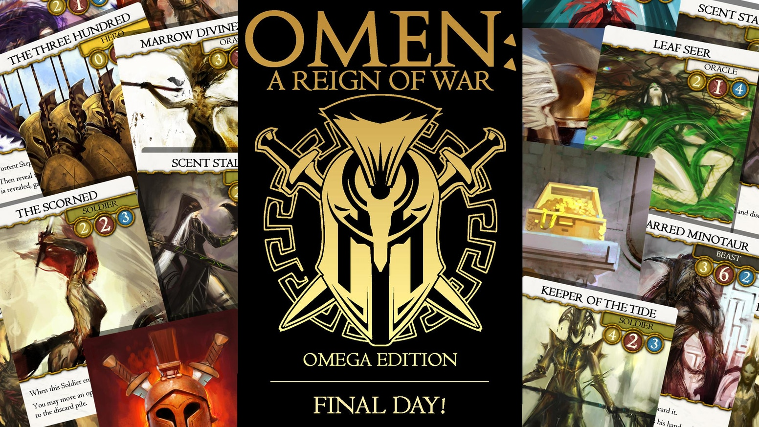 OMEN: A Reign of War  Omega Edition Deluxe  by smallboxgames