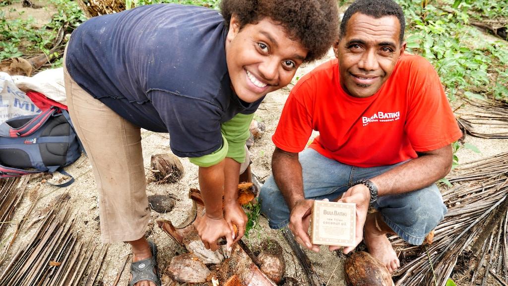 Bula Batiki Coconut Oil: Non-profit from the Fiji Islands project video thumbnail