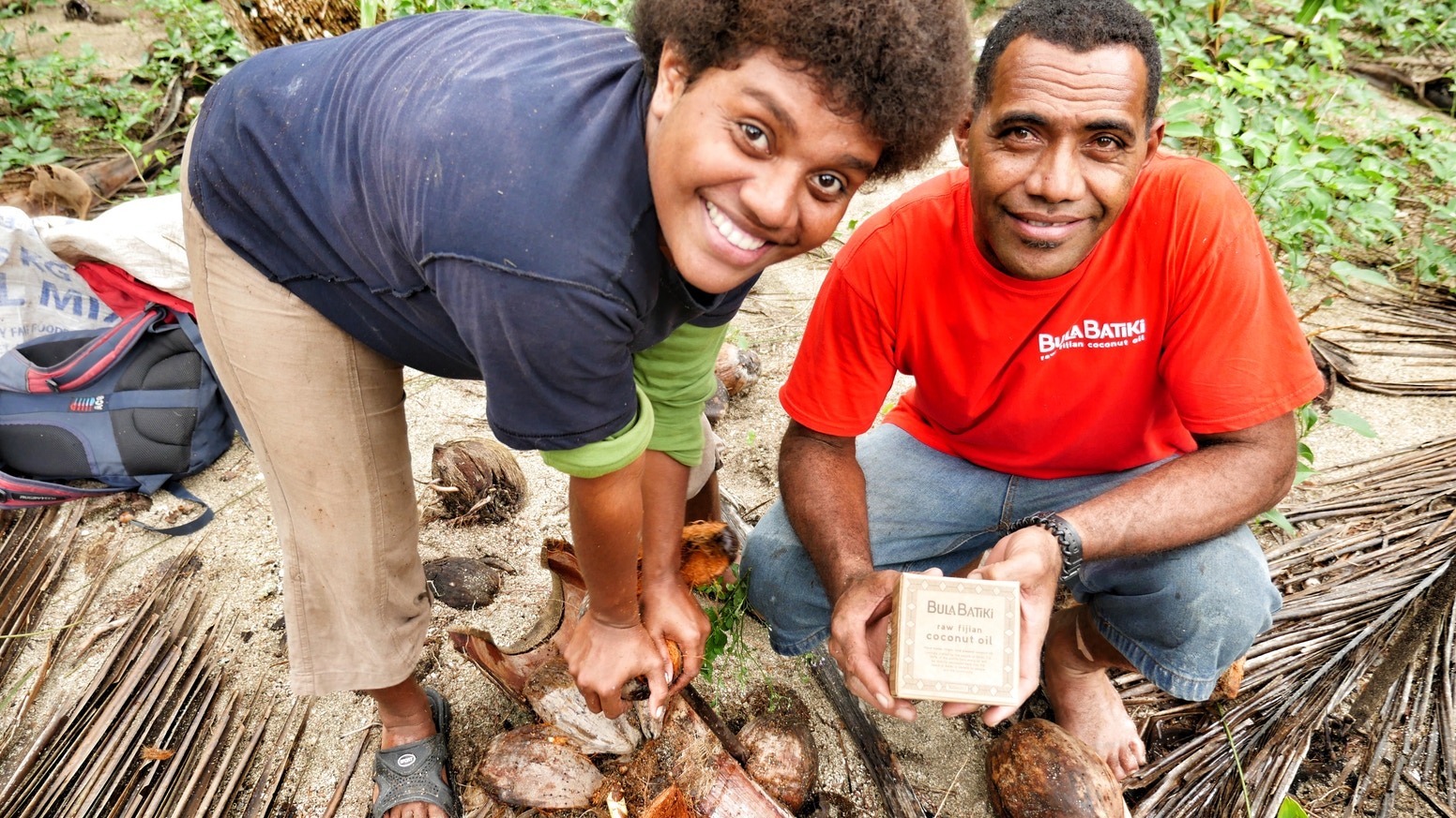 Bula Batiki Coconut Oil Non Profit From The Fiji Islands By