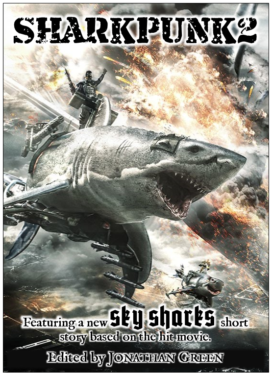 """Not final artwork. All artwork from """"Sky Sharks"""", by Marc Fehse, used here with permission, copyright Fuse Box Films GmbH (c) 2017."""