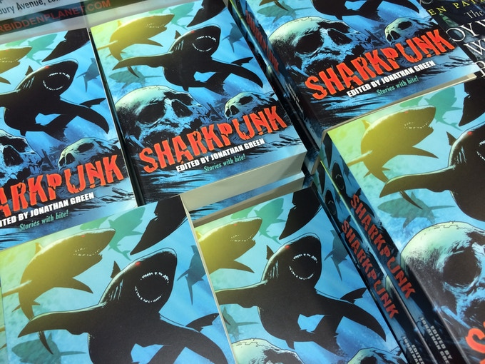 SHARKPUNK (Volume 1) launched at Forbidden Planet in May 2015.