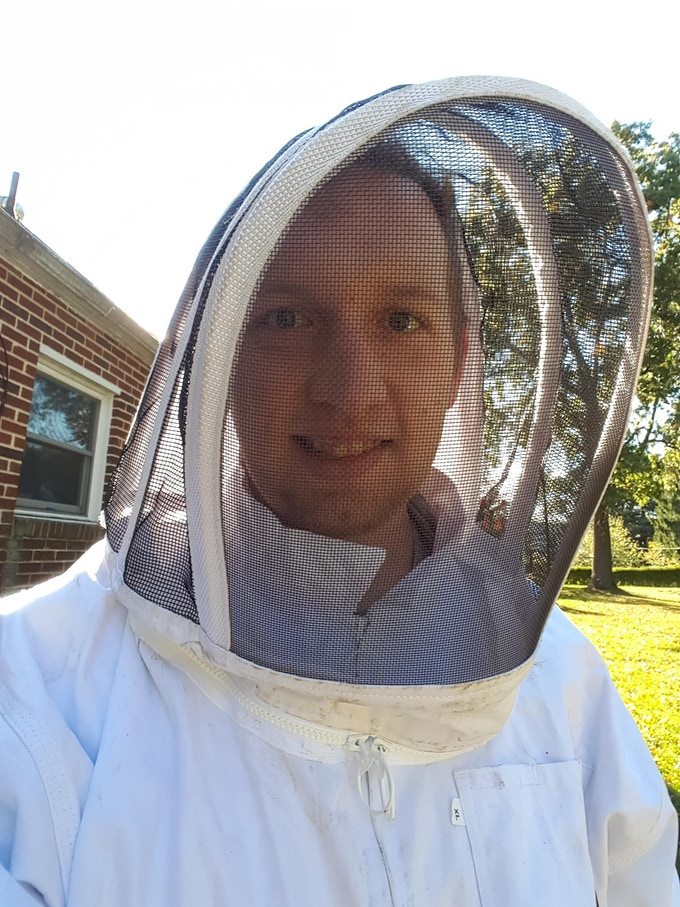 About to open a hive