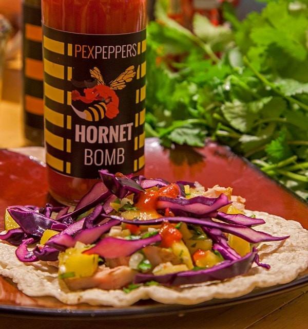 HornetBOMB Hot Sauce