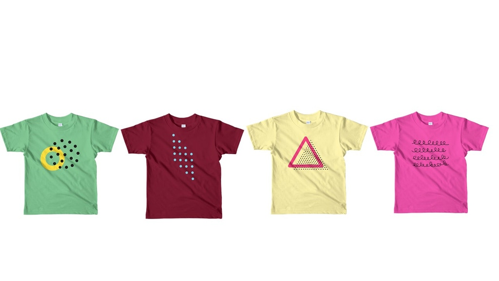 Project image for WobblyTots - Organic Minimalist design Tees for Kids