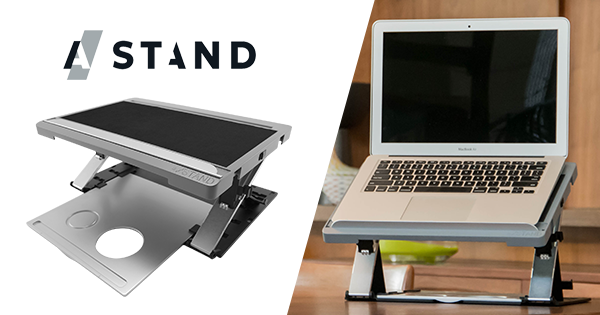 A/STAND - The Ultimate Lap-desk, Case, Tray, Stand by Norman A Korpi