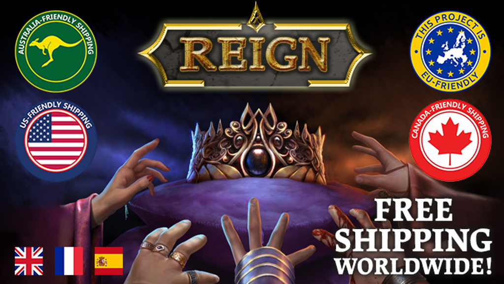 Reign: Diplomacy, Deception, Domination project video thumbnail