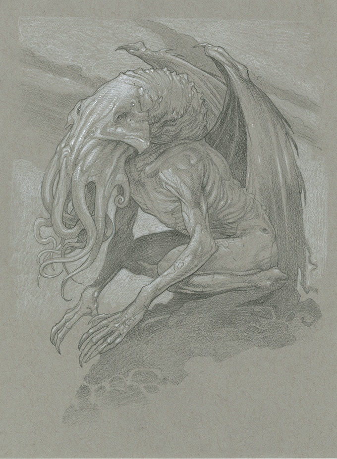 Cthulhu by Mark A. Nelson