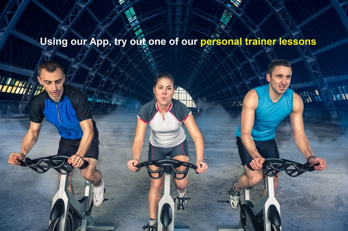 LOAD OUR APP ON YOUR TABLET AND TRAIN WITH THE PRO's