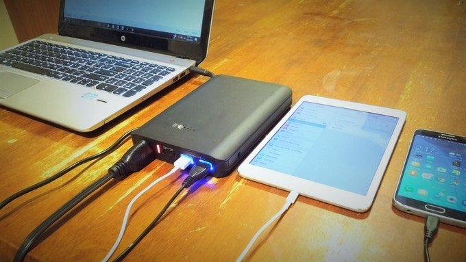 Laptop, Tablet or Phone- the SPARK XL can power them all