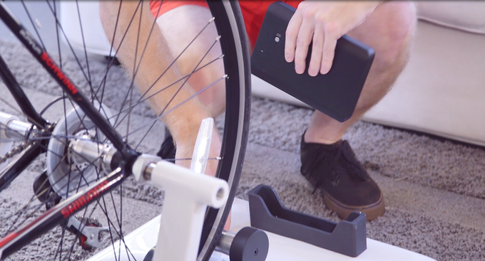 You can remove your SPARK after exercising. The trainer can be used even without the SPARK.