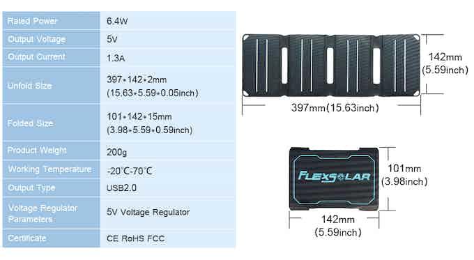 PocketPower solar charger