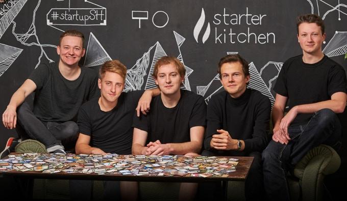 Peer, Julian, Malte, Nico, Christian