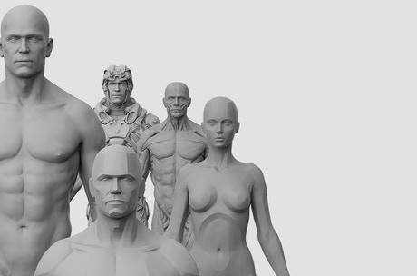 3dtotal Anatomical Collection: SIX New Reference Figures! by 3DTotal ...