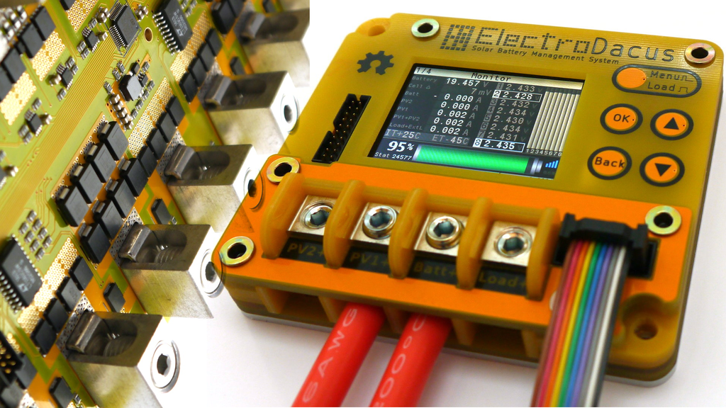 Digital MPPT and Solar BMS for a Net Zero energy House project video thumbnail