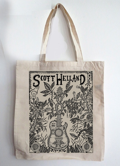 'Guitarmy of One' Tote Bag - Add to any reward for $20!