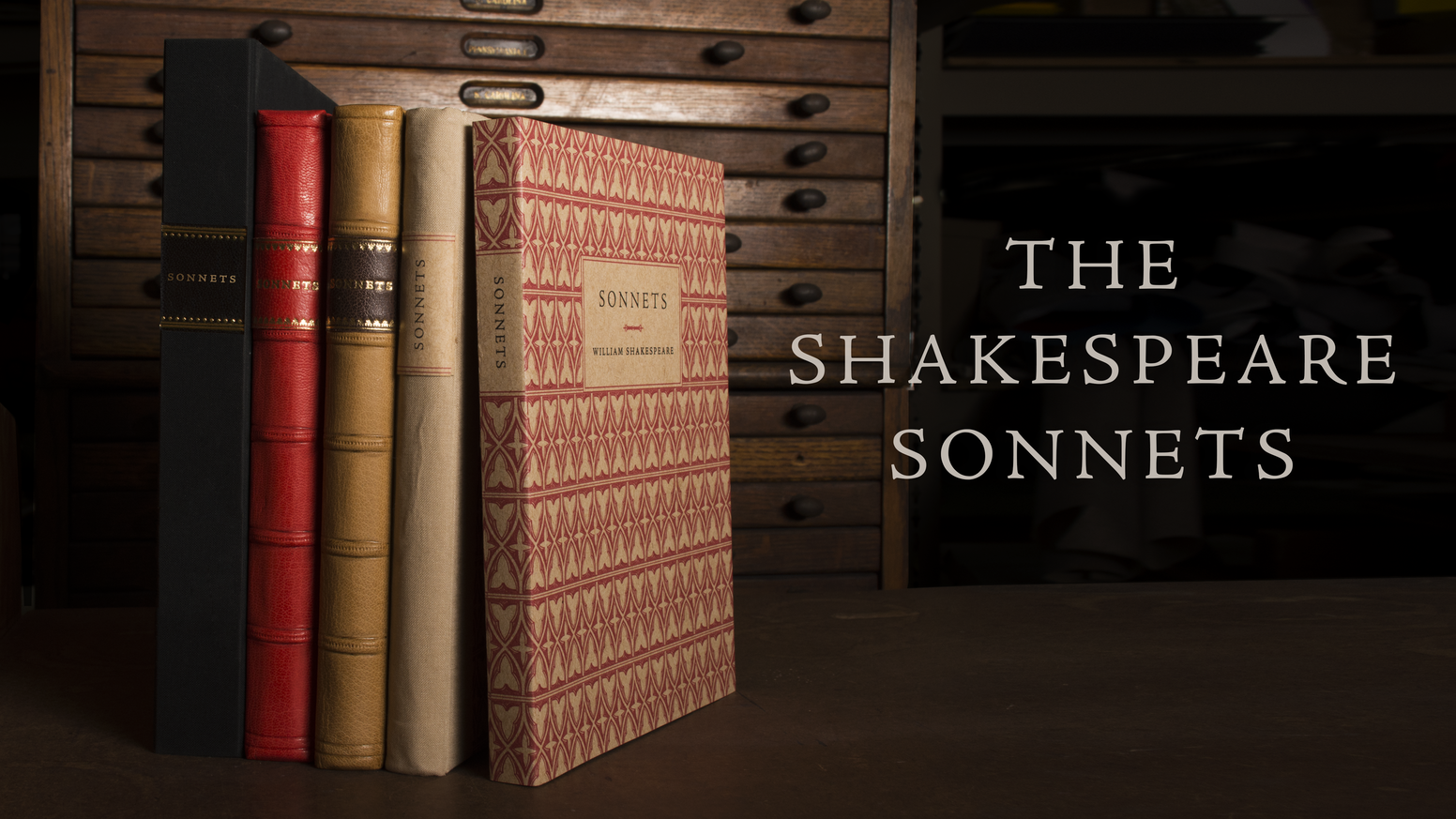 The Shakespeare Sonnets by Thornwillow — Kickstarter