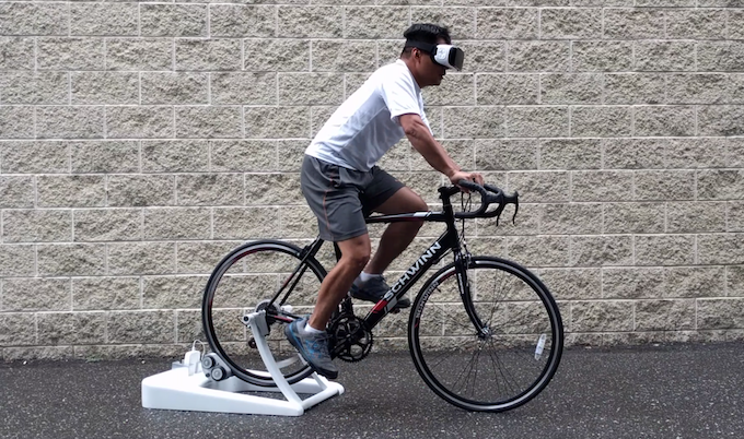 TRAIN WITH OR WITHOUT VR GOGGLES