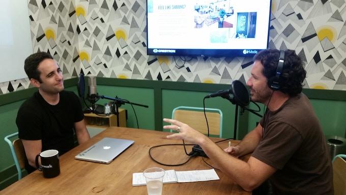 Grabando con el emprendedor Diego Saez Gil, CEO de Bluesmart.