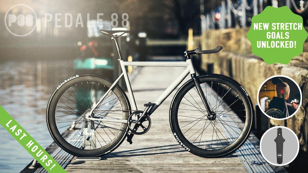 CRONO - low maintenance, belt drive, lifestyle bike Pedale88 project video thumbnail