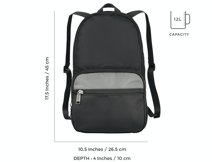 Backpack from detachable pocket