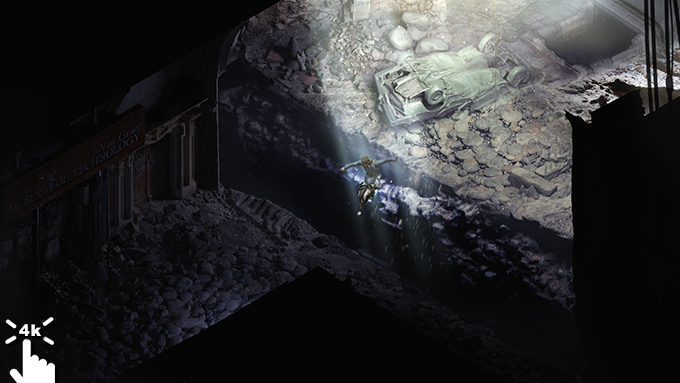 Explore the depths of a crumbling world.