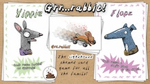 'Grr...rabbit!' The sighthound themed card game