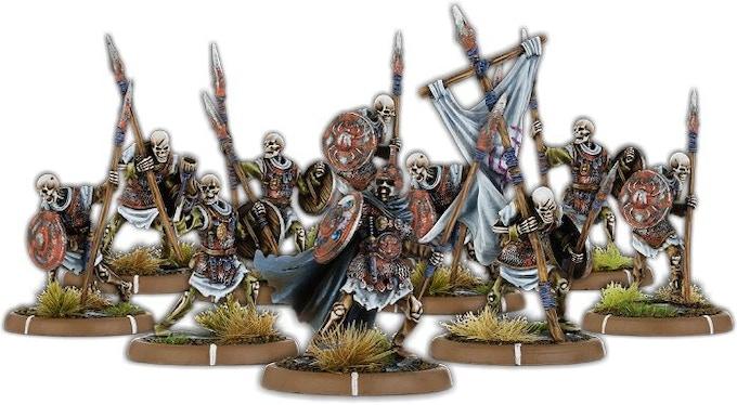 The Dead of Black Barrow, Wihtgār Unit