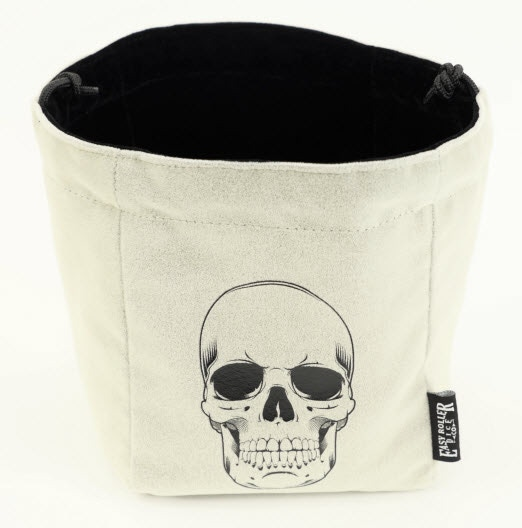 Reverse Side Of Skull Bag