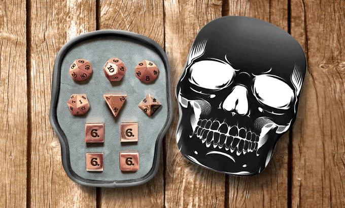 10 Piece With Skull Box