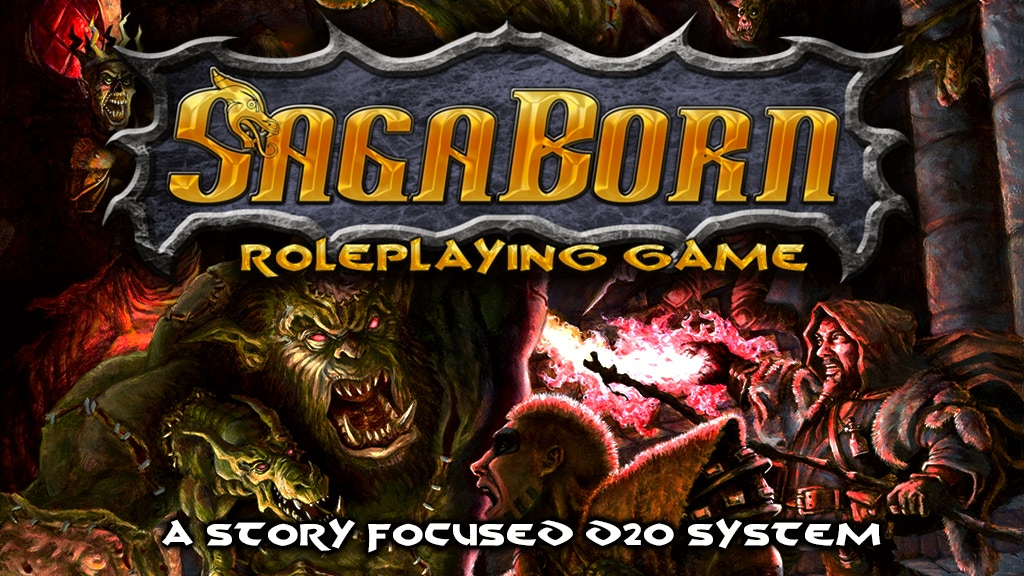 SagaBorn Roleplaying Game project video thumbnail