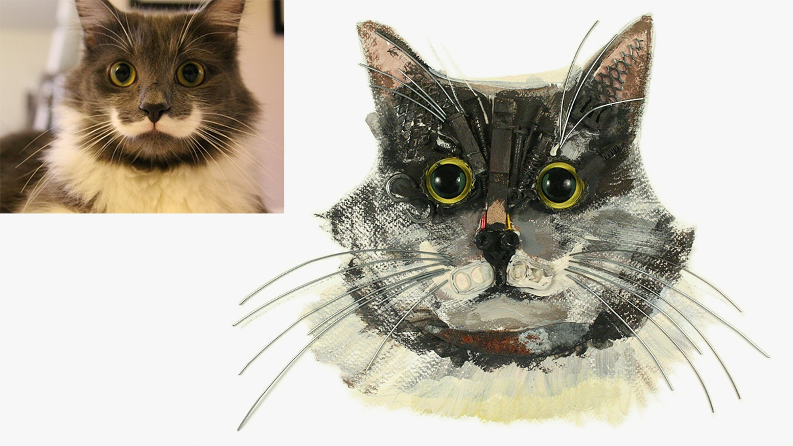 You have beloved pets and I would love to turn their image into a unique piece of fine art. Follow the link below to order your unique bespoke Pet Portraits