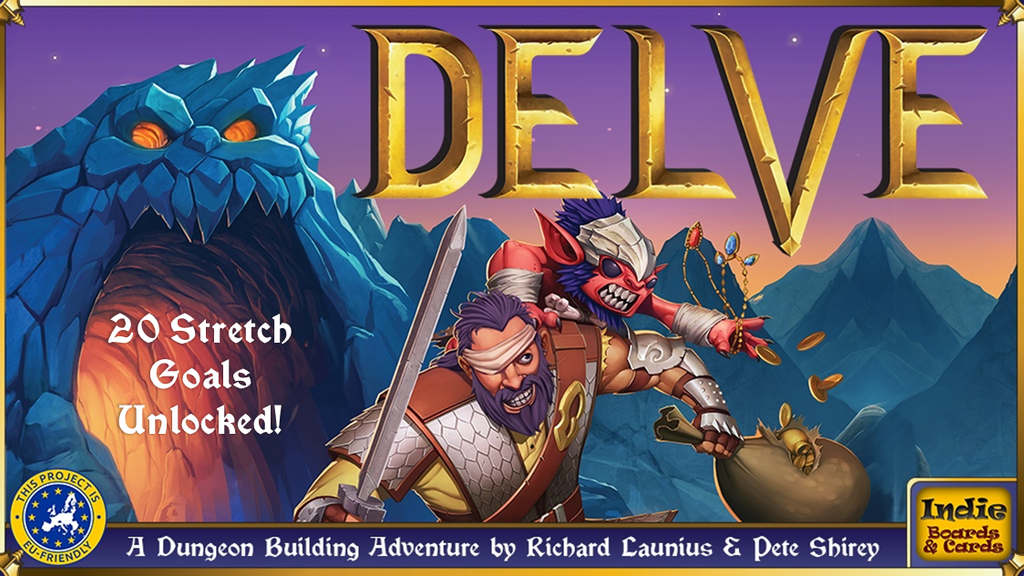 Delve project video thumbnail