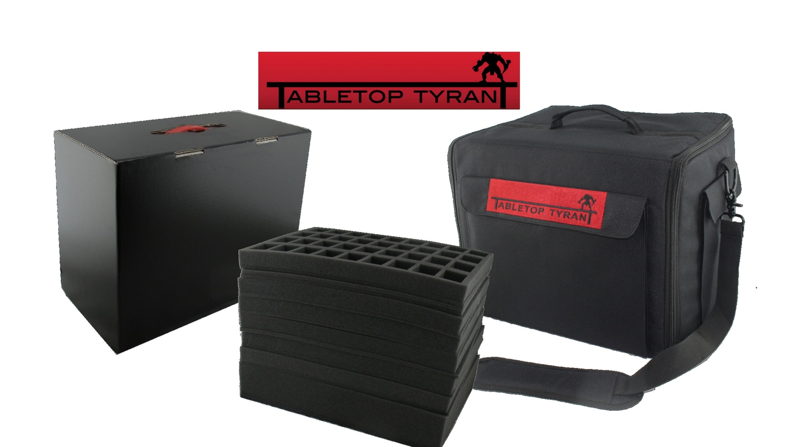 A brand new figure case and our best selling Tyrant Case upgraded for 2017.