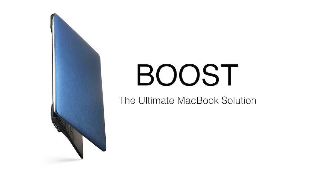 "BOOST - Ultimate Solution for Your MacBook 12"" project video thumbnail"