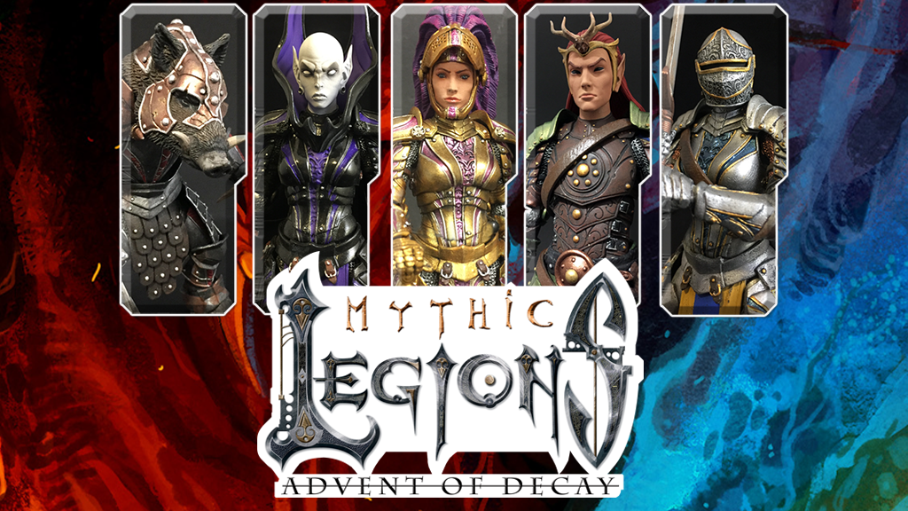 Mythic Legions 2 Action Figures by Four Horsemen Studios project video thumbnail