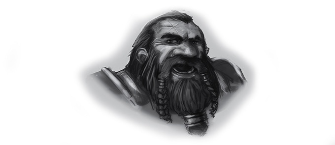 Thrommel Ironbeard - Dwarf Warrior