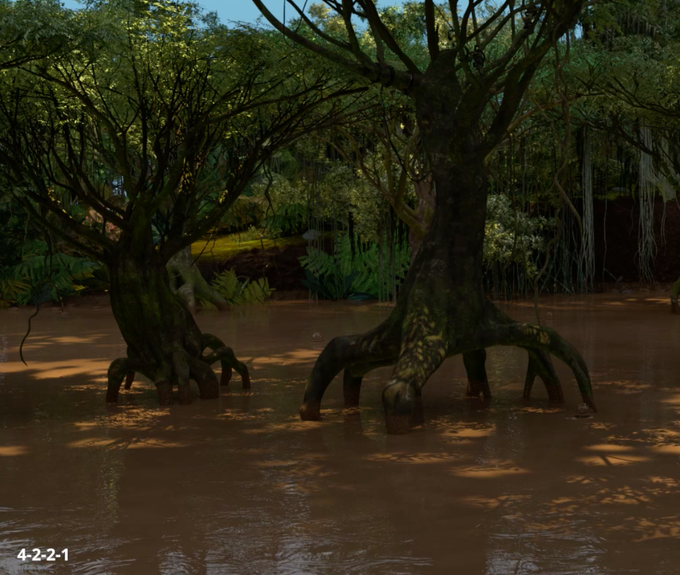 Background art for the Swamp of Despondency