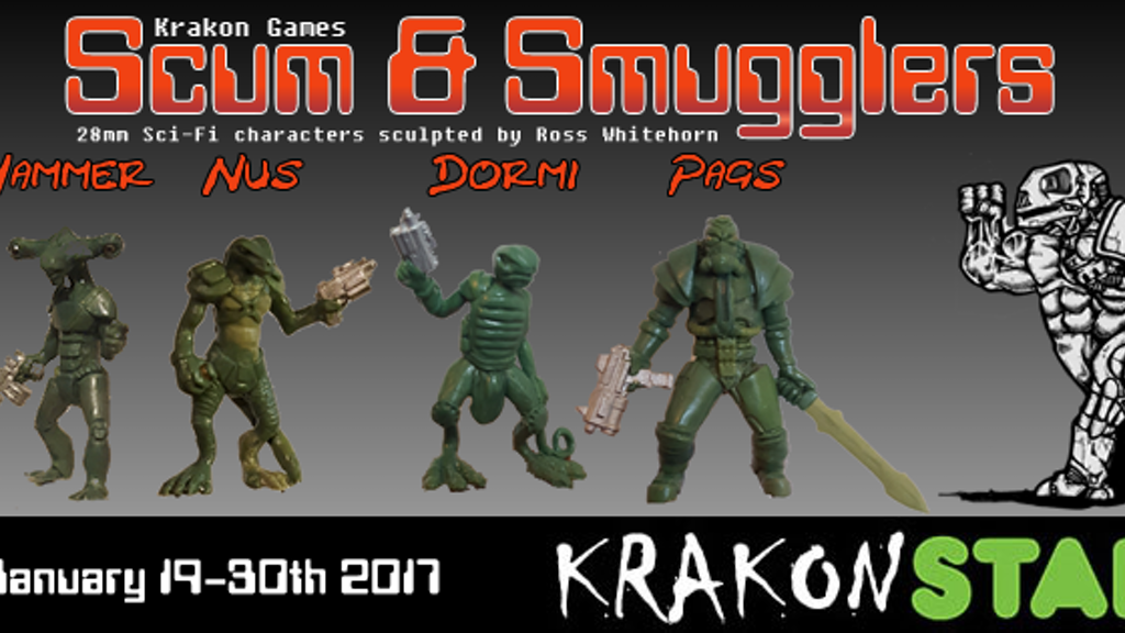 Future scumbag miniatures in 28mm scale for your tabletop wargames or roleplay