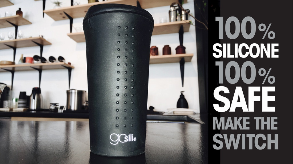 GoSili® Silicone To Go Coffee Cup project video thumbnail