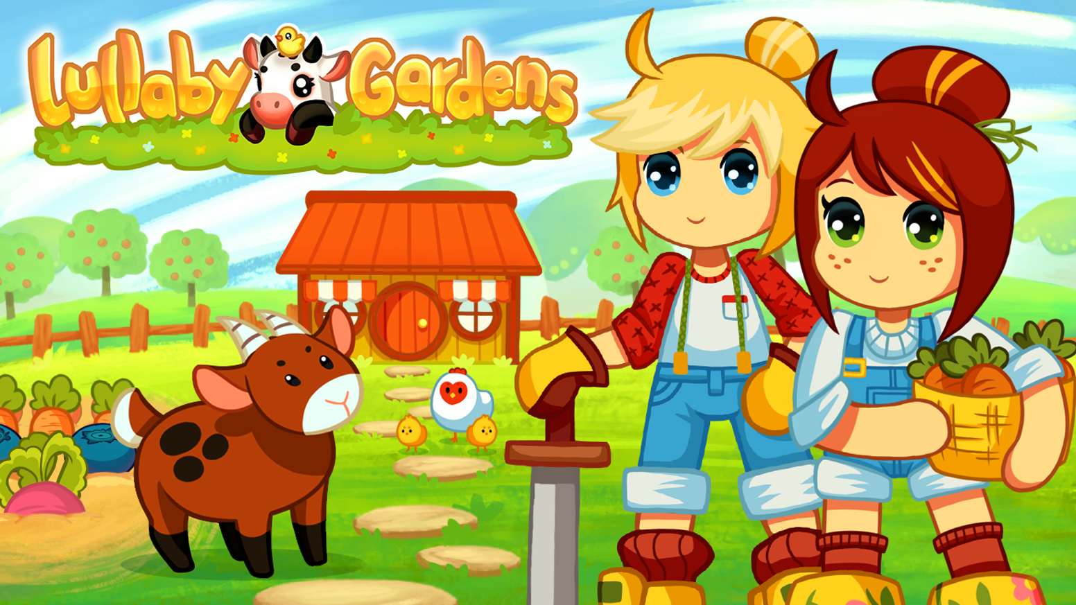 Farm, fish, mine and hunt to gather goods and supply your shop. Will your  customers come back?