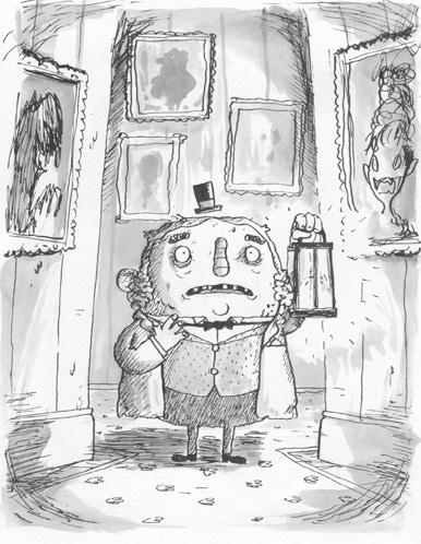 Albert Snodcobble heard it again. Something was calling him from behind the walls