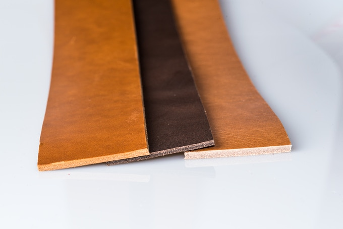 the quality leather - first avaiable colors