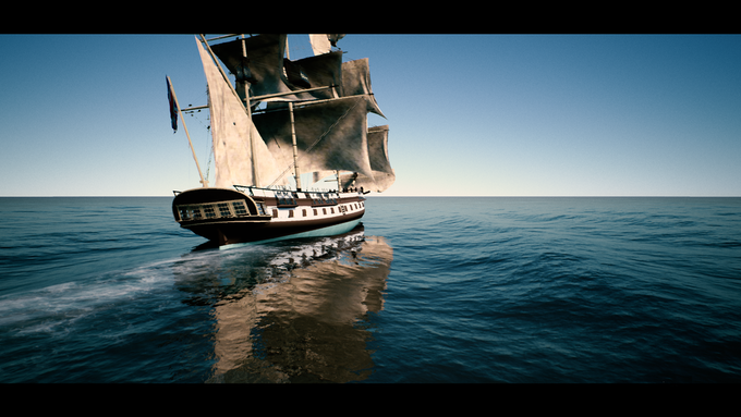 (In-Game screenshot) A Level 3 ship(a frigate)