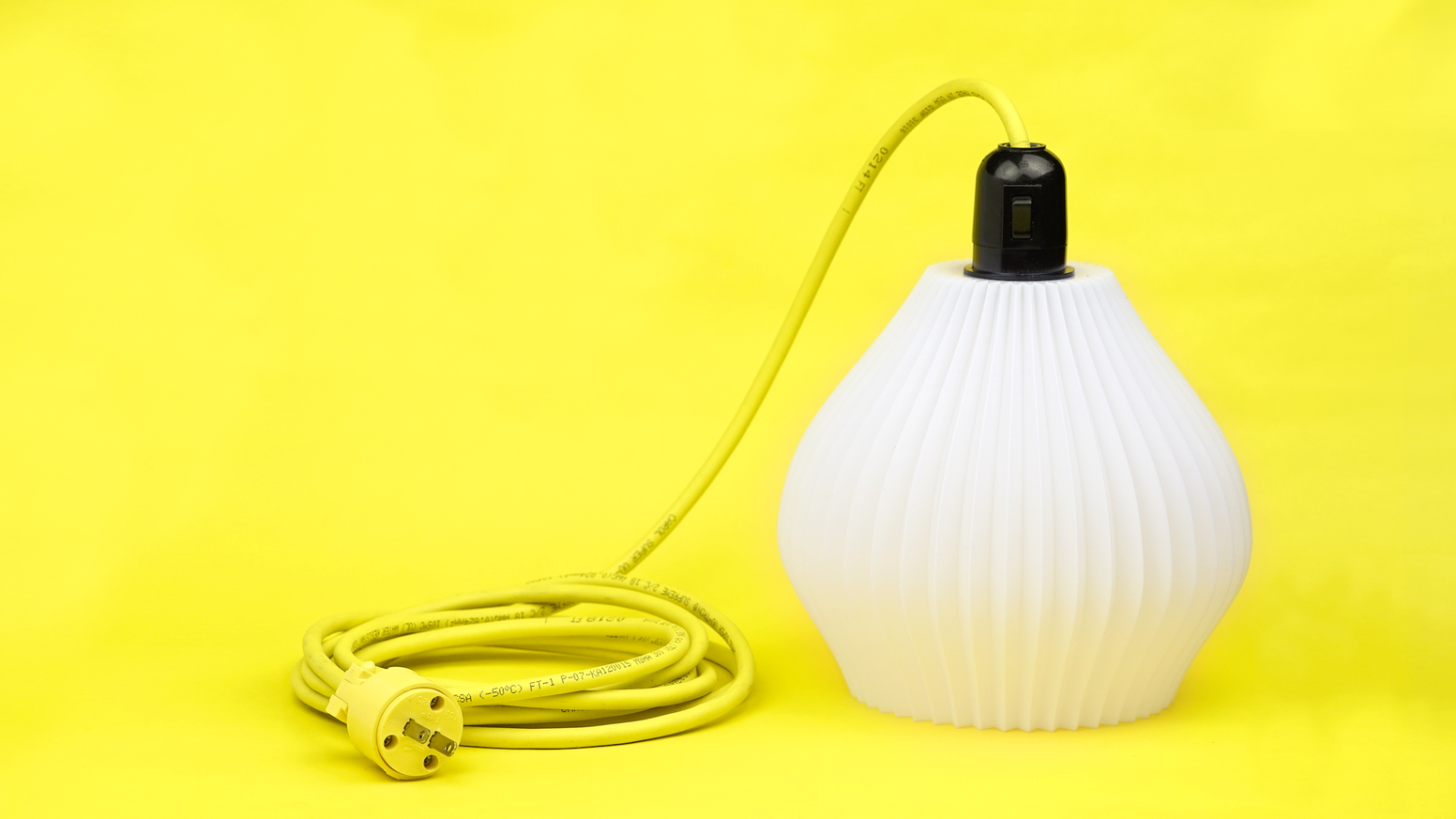 100 unique limited edition table top lamps.