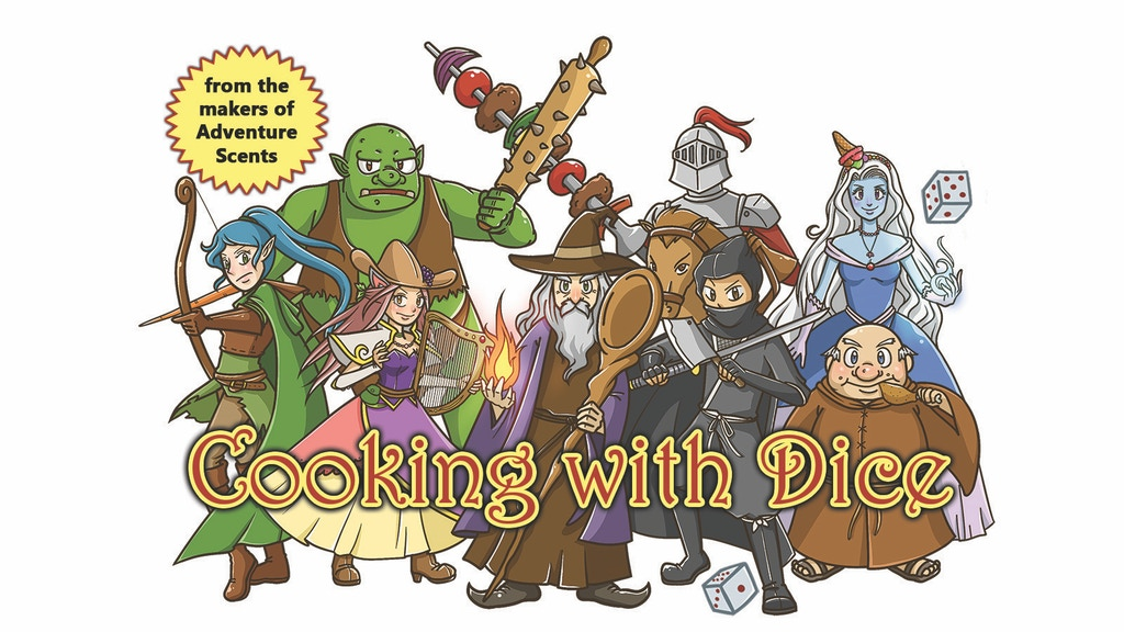 Cooking with Dice: Classic RPG with a Delicious Twist project video thumbnail