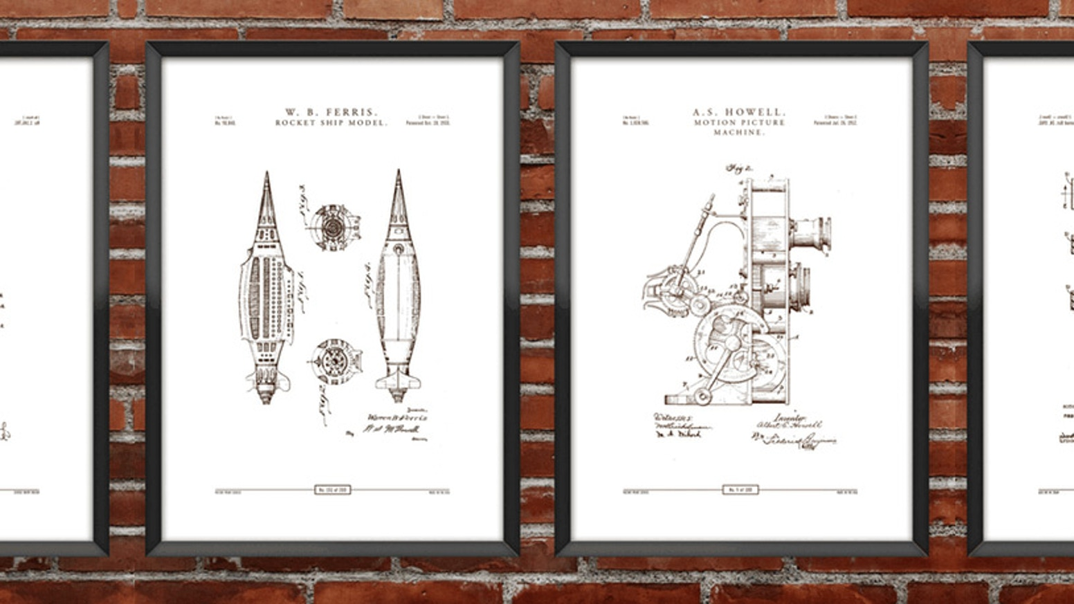 Poster series featuring over 500 of the most iconic patent designs. Everything has been redesigned to fit into a cohesive collection.