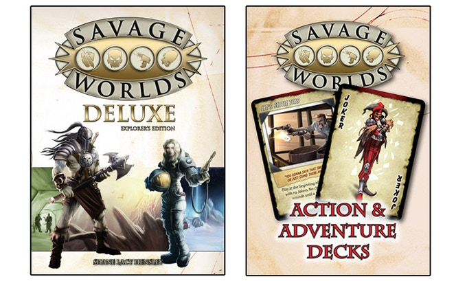 New to Savage Worlds? The main rules can be found in this book for the amazing price of only $10! You can also check out the free Test Drive version at our website!